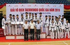 2019 national taekwondo champs closes in Da Nang