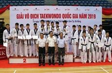 2019 national taekwondo champs closes in Da Nang