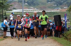Nguyen Tien Hung wins Vietnam's biggest mountain race in Sa Pa