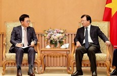 Deputy PM receives CEO of Lotte Asset Development