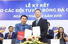 Kao Vietnam becomes sponsor of national football teams