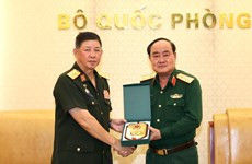 Vietnam, Laos enhance cooperation in military logistics