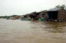 Mekong Delta coastal, river erosion becoming severe