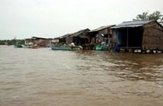 Mekong Delta coastal, river erosion becoming severe