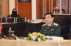 Vietnam's high-ranking military delegation visits Myanmar