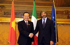 NA Vice Chairman meets with leaders of Italy's lower house