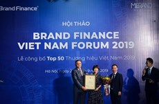 Vietnam's top 50 brands in 2019 announced