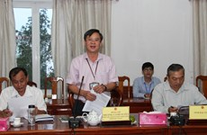 Hau Giang asked to work harder in luring NGOs' assistance