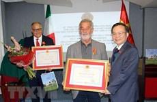 NA high-ranking official visits Italy