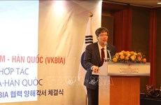 Vietnam-Korea businessmen and investment association debuts