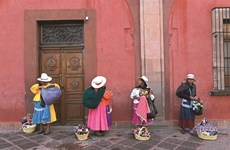 Photos show landscape, people of Mexico, Vietnam