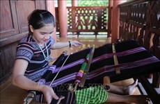 H're people's brocade weaving recognised as national intangible cultural heritage