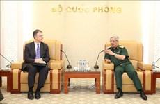 Vietnam, US step up defence ties