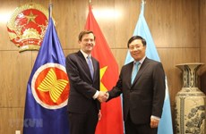 Deputy PM active on sidelines of UN General Assembly's 74th session