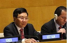 Deputy PM Pham Binh Minh attends G77 ministerial meeting