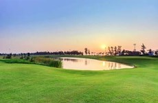 Golf tournament offers prize money of 4.3 million USD