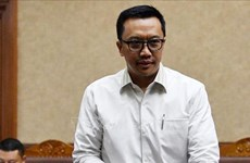 Indonesia's anti-graft agency detains former sports minister