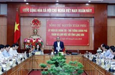 Prime Minister works with Lang Son province's leaders