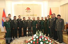 Vietnam, Cambodia look to strengthen defence ties