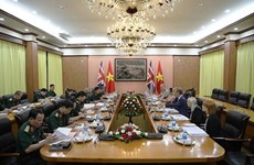 Vietnam, UK hold second defence policy dialogue