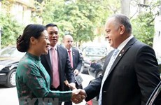 Vietnam, Venezuela tighten traditional friendship, solidarity