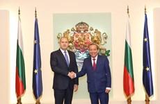 Deputy PM Truong Hoa Binh meets Bulgarian President