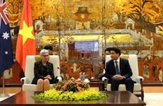 Hanoi, Australia's Victoria state enhance cooperation