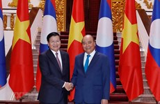 Vietnam, Laos issue joint statement