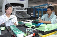 Vinh Phuc: revenue from electricity, electronics support firms increases 8%
