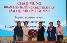Bac Ninh pushes economic ties with Russia