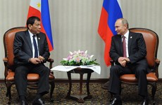 Philippine President visits Russia