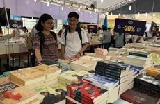 Hanoi Book Festival kicks off to mark 65th Capital Liberation Day