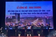 Hai Duong launches gov't service platform, portal