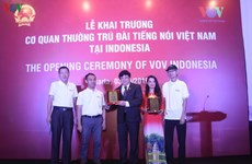 VOV launches representative office in Indonesia