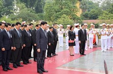 Lao PM concludes official visit to Vietnam