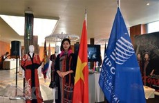 Vietnam silk, brocade exhibition underway in Geneva