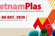 Plastic, rubber industry exhibition opens in HCM City