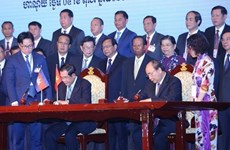New progress in land border demarcation between Vietnam, Cambodia