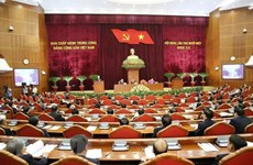 Party Central Committee discusses draft reports