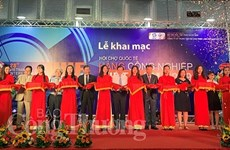 Vietnam int'l industrial fair opens in Hanoi