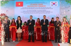 RoK-funded sewage treatment plant inaugurated in An Giang