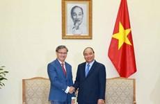 Prime Minister receives outgoing Lao Ambassador