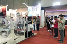 Support industry expos underway in HCM City