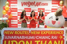 Thai Vietjet Air opens two new routes in Thailand