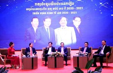 Seminar talks Laos' economic prospects