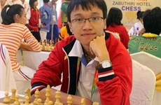 Son wins, Liem draws at FIDE Grand Swiss in England