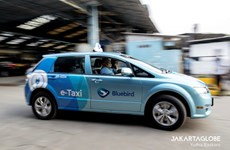 Indonesia's largest taxi operator launches electric cars