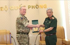Deputy Defence Minister receives UK defence attachés