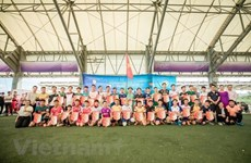 Football tourney in Japan supports Vietnamese people after disaster