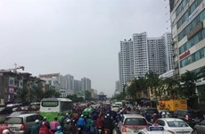 High-rise apartments trigger Hanoi traffic hotspots